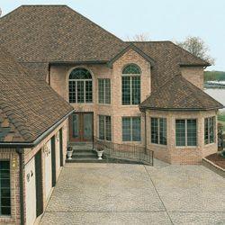 Houston Restoration Services Brown Roof